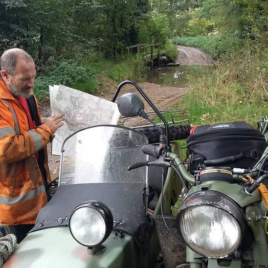 Out Training with Mick of MPC Ural Motorcycles