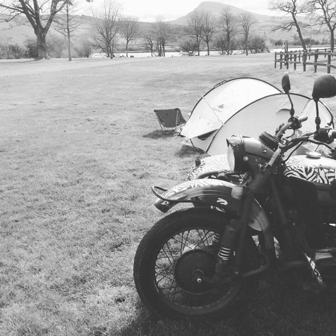 1,200km, Wild camping, Wales & Wonderings